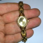 Sekonda Ladies watch 04465  gold plated used